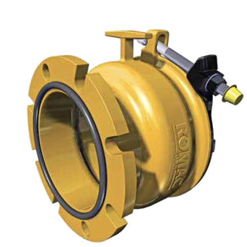 EJP's Wide Range Restrained Flanged Coupling