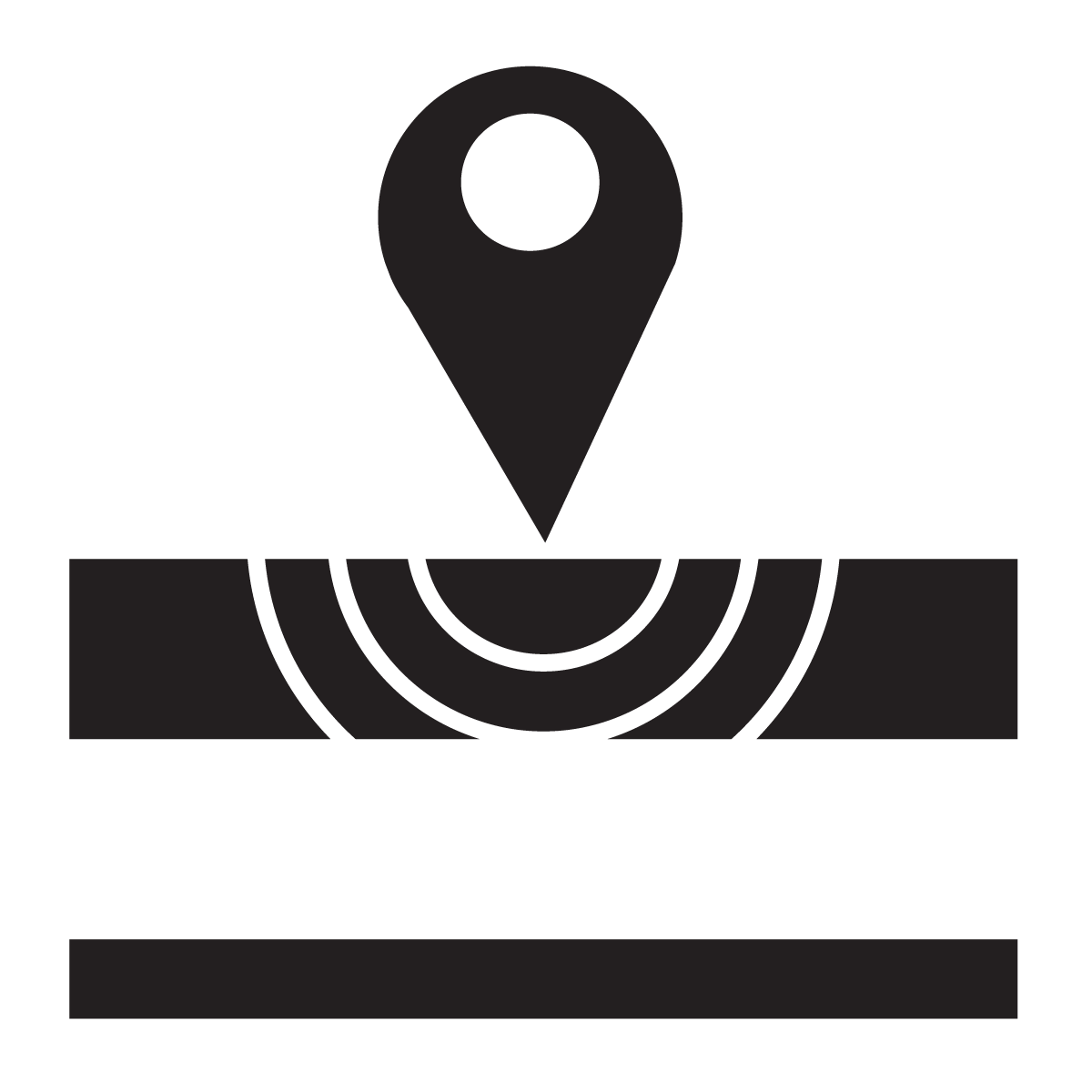 Pipe and Valve Locating Icon