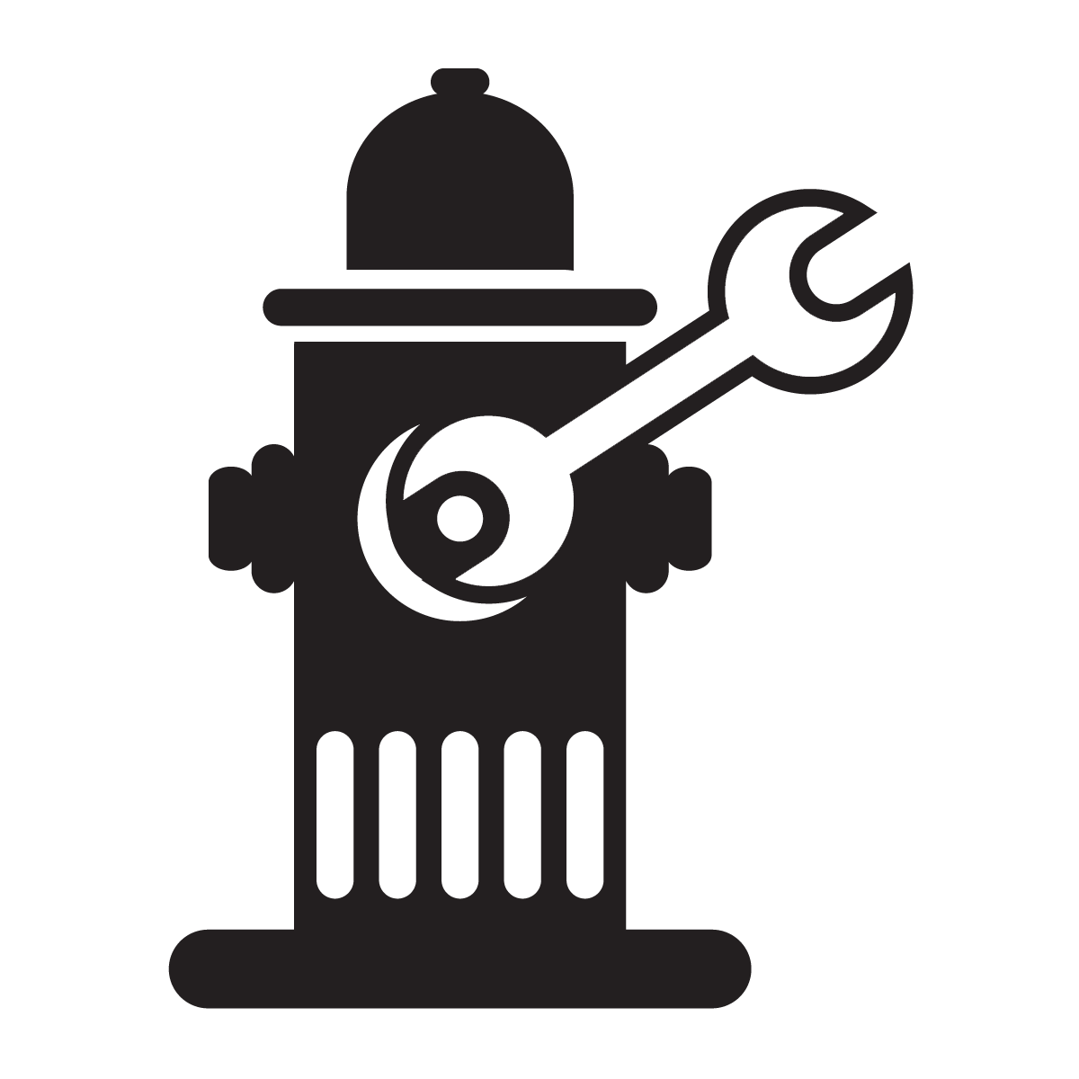 Valve and Hydrant Maintenance Icon
