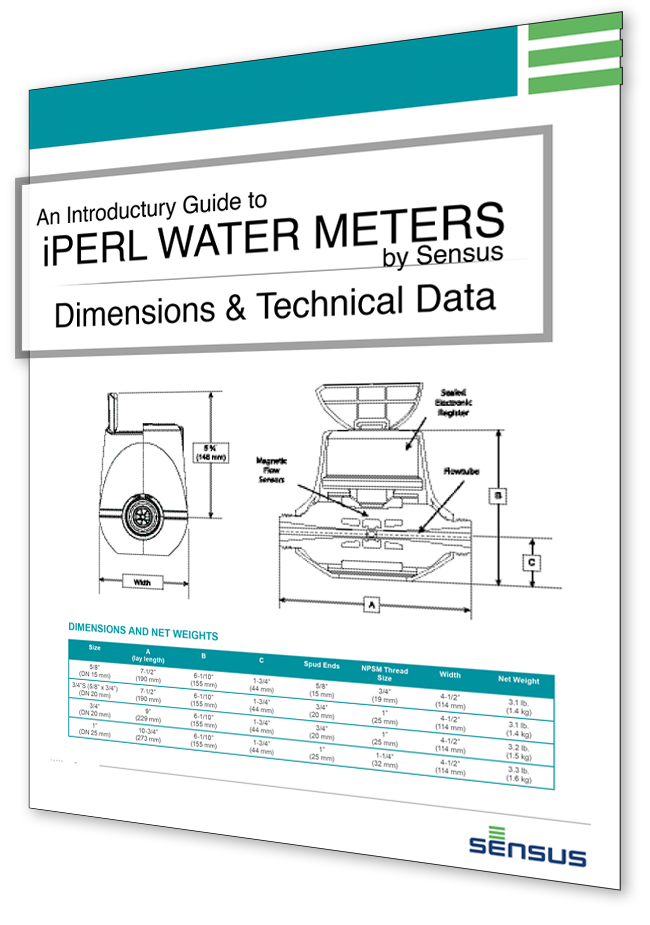 Free Water Meter Guide with Technical Data and Specifications