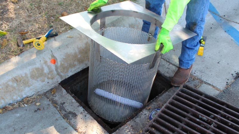 Bio Clean Environmental Catch Basin Inlet Filters